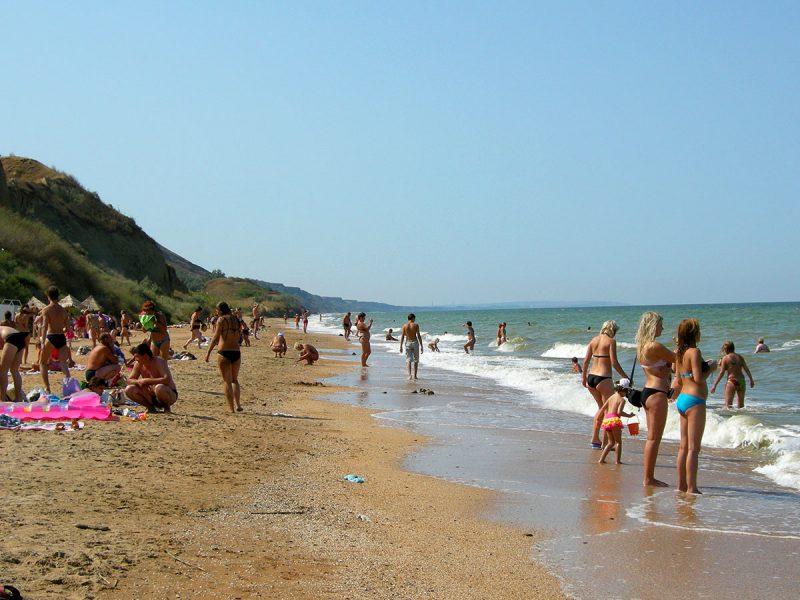 Голубицкая станица фото пляжа и